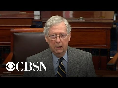Mitch McConnell calls on senators to wait before passing judgment on Soleimani operation