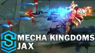 Mecha Kingdoms Jax Skin Spotlight - Pre-Release - League of Legends