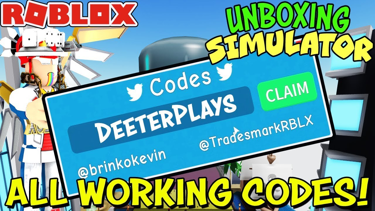 Codes For Unboxing Simulator In Roblox - All Working Codes And All Areas In Unboxing Simulator Roblox