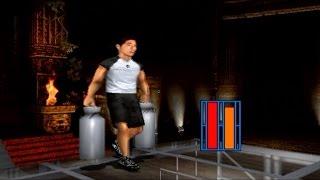 マッスルウォーズ21より、マッスルランキングモードを寺門ジモン選手で...