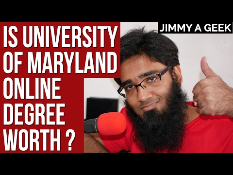 Question: Is University of Maryland Online Degree Worth ?