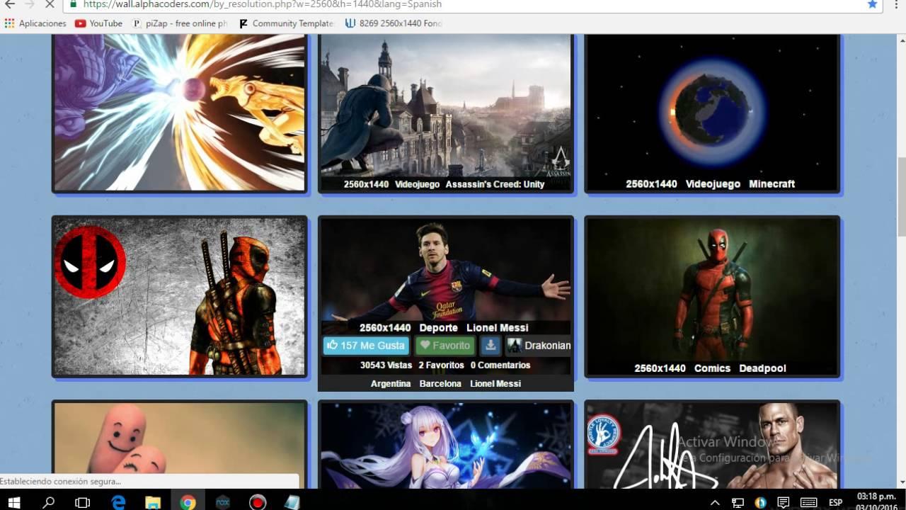 Como Descargar Imagenes 2048 X 1152 Gratis Para Tu Canal De Youtube Para Portada