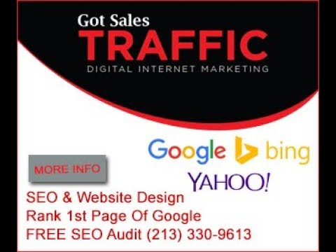 Search Engine Optimization (SEO) Services - (213) 330-9613