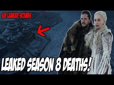 LEAKED Death Scenes! Game Of Thrones Season 8 (Leaked Spoilers)