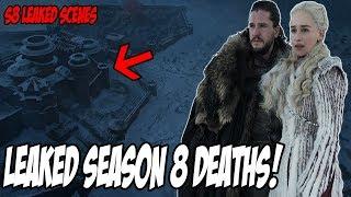 LEAKED Death Scenes! Game Of Thrones Season 8 (Leaked Spoilers)