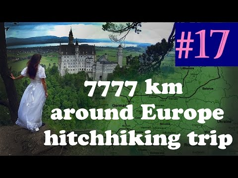 #17 Hitchhiking Europe - Switzerland Lenzburg Hallwyl Castle Couch surfing
