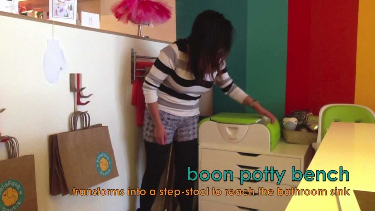 boon potty bench  youtube -
