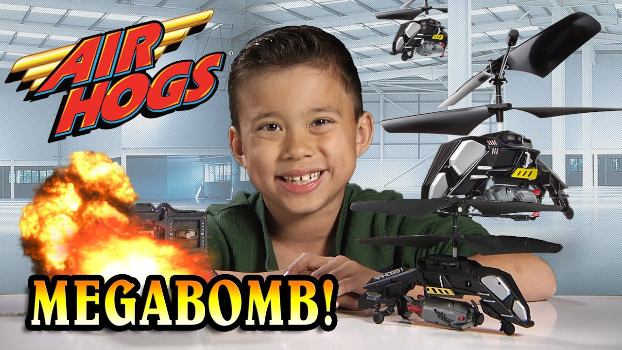 Air Hogs MEGABOMB Review & Unboxing - BOMBS AWAY!!! [EvanTubeHD CLASSIC]