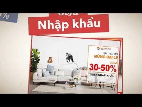 BIG SALE OFF - SOFA nhập khẩu - Nội Thất Gia Phong - YouTube