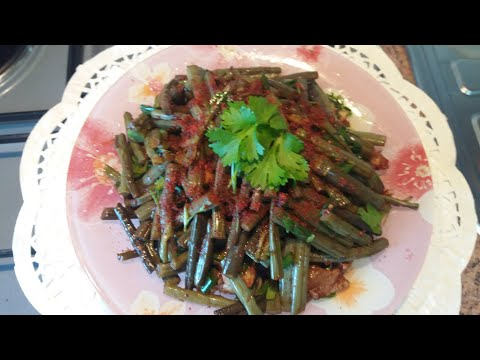 Корейский салат из папоротника/КОСАР ЧА/