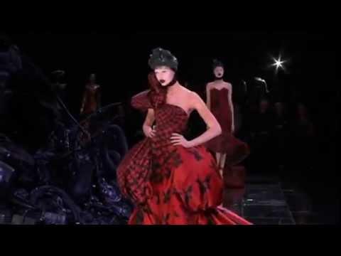 Alexander McQueen The Horn Of Plenty Dress Autumn/Winter ...