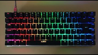 BEST Cheap RGB Mechanical Keyboard?! Ajazz AK33 RGB Review