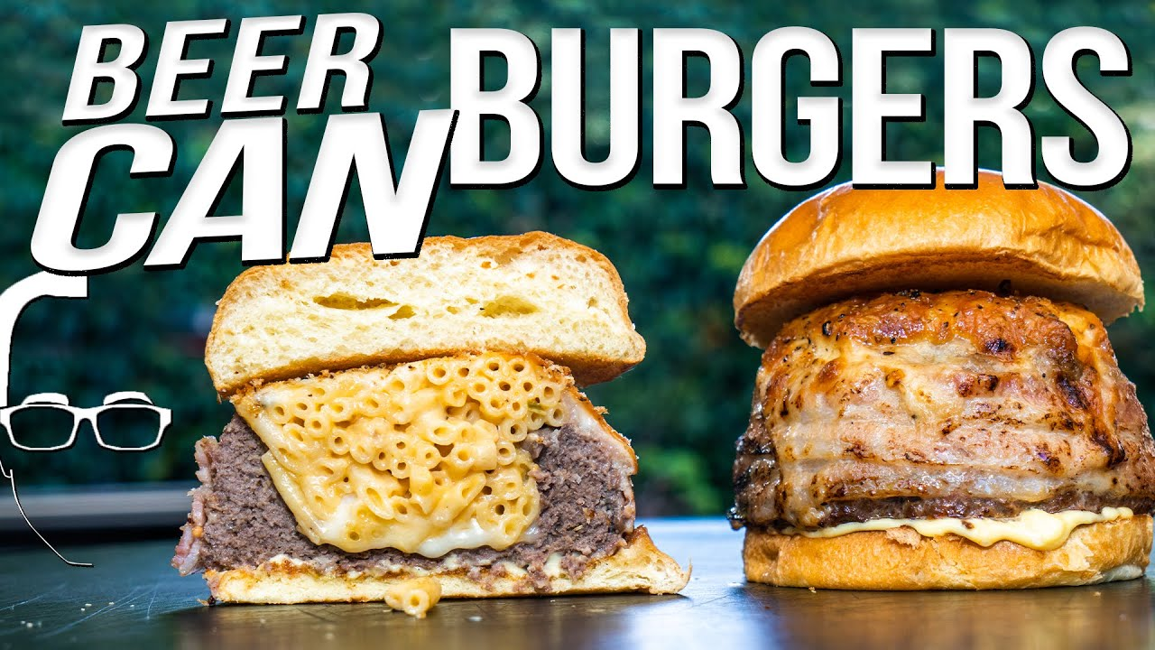 How To Make Beer Can Burgers Diy Ways