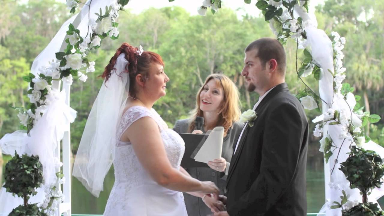 Our Simple Ceremony, FL Wedding Officiant - YouTube