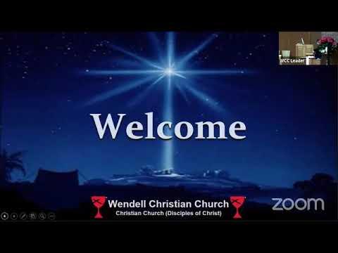 Zoom Worship - December 27, 2020