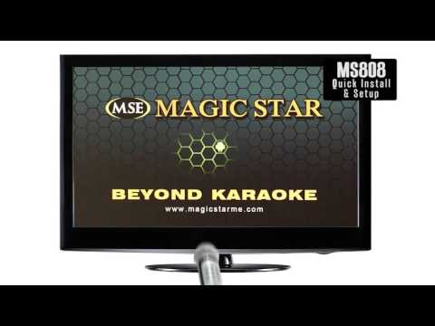 Magic Star MS808 Android Karaoke Instructional Video