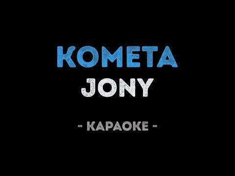 JONY - Комета (Караоке)