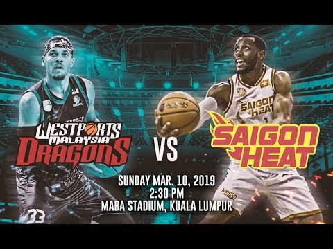 Westports Malaysia Dragons vs Saigon Heat | FULL GAME | 2018-2019 ASEAN Basketball League