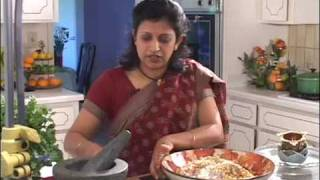 Indian Vegetarian Gourmet - Tangy Garbanzo Salad