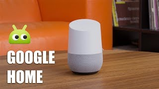 Обзор Google Home