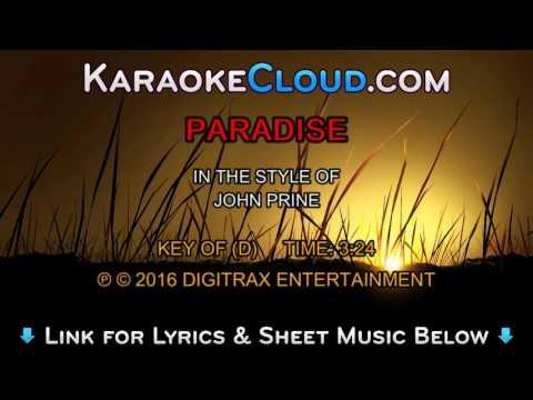 John Prine - Paradise (Backing Track)