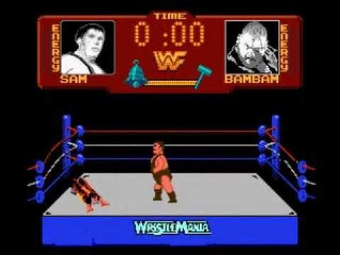 Wwf Wrestlemania Nintendo Nes Youtube
