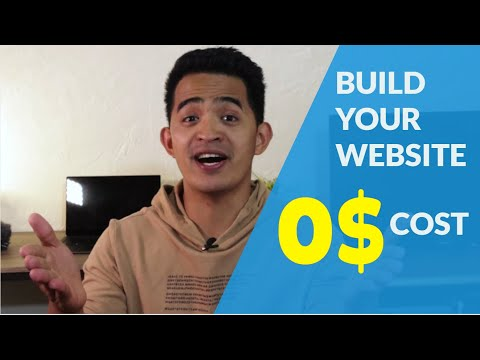 How to BUILD a Website with FREE DOMAIN NAME and HOSTING [BEGINNERS GUIDE]