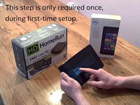 Streaming live broadcast TV to PCs and tablets with the SiliconDust HDHomeRun