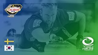 Sweden v Korea - Semi-final - 361º World Men's Curling Championship 2018
