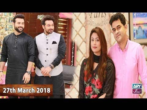 Salam Zindagi With Faysal Qureshi - 27th March 2018 - ARY Zindagi Drama
