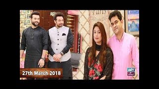 Salam Zindagi With Faysal Qureshi - Jodi No1 special - 27th March 2018