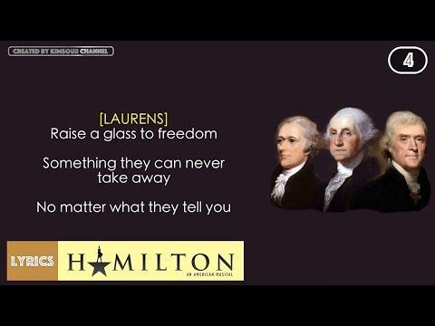 #4 Hamilton - The Story Of Tonight (VIDEO LYRICS)