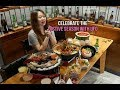 Chicken Up Celebration with UFO Snow Squid & Seafood Stew の動画、YouTube動画。