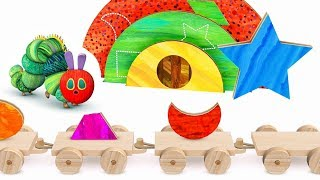 Good Hungry Caterpillar Shapes and Colors Alternatives