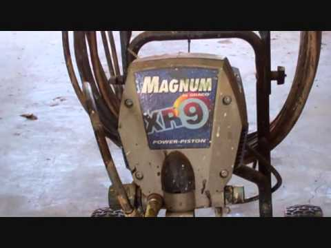 graco magnum xr9 review youtube rh youtube com Graco Magnum XR9 Graco Magnum XR9