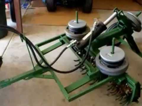 Homemade Aerator with hydraulic lift