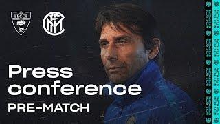 LECCE vs INTER | Antonio Conte Pre-Match Press Conference LIVE 🎙⚫🔵 [SUB ENG]