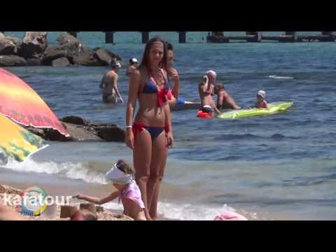 Depraved Girls On The Beaches Of Ukraine In Crimea   KAFA TV