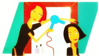 ❤ Great 3D Hair dryer sound ❤  Feel the Warm Air on your ears ❤ Sleep aid ❤ White Noise