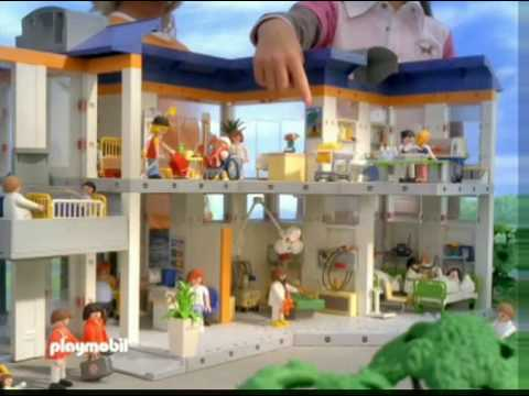 serie hospital de playmobil youtube