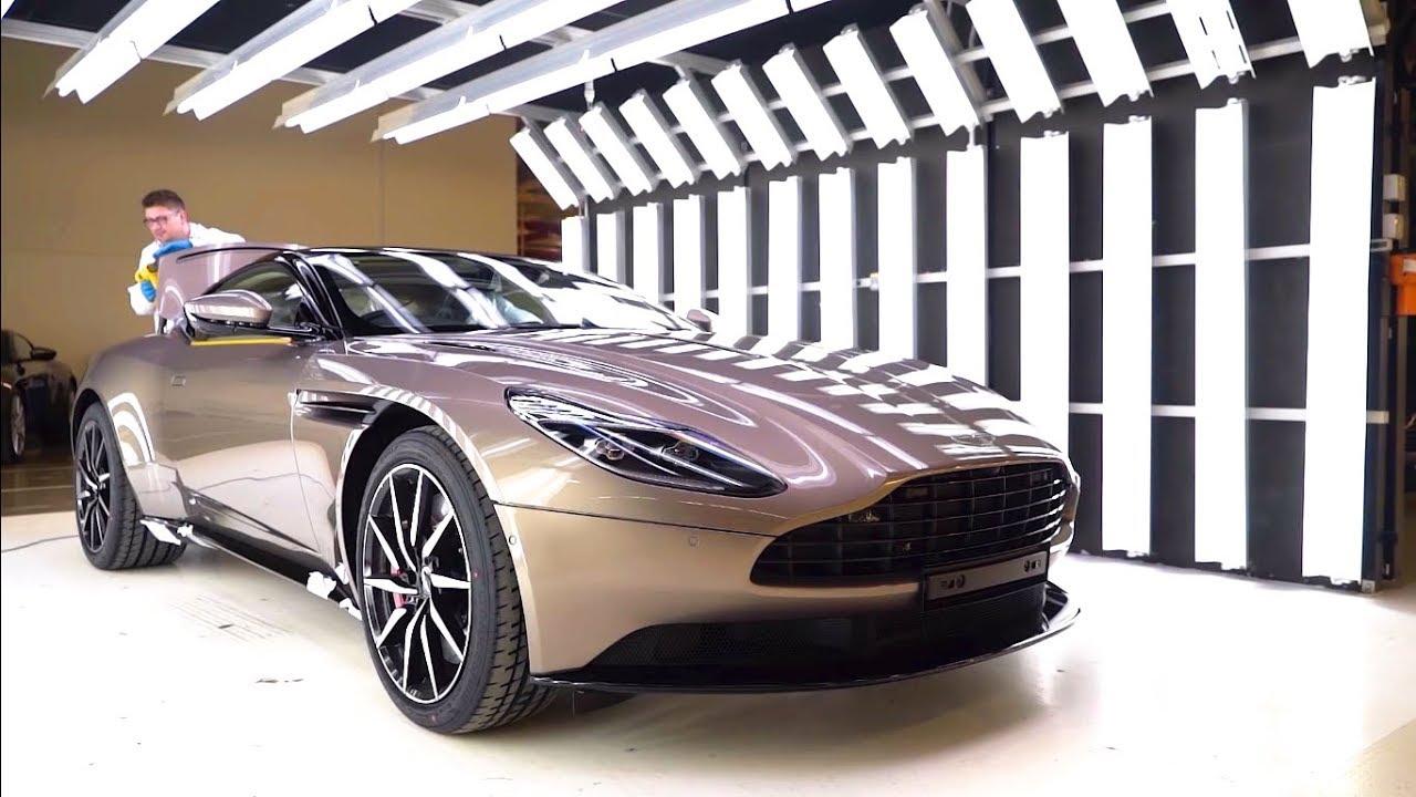 2018 Aston Martin Db11 Production How It S Made Inside Aston Martin Factory Youtube