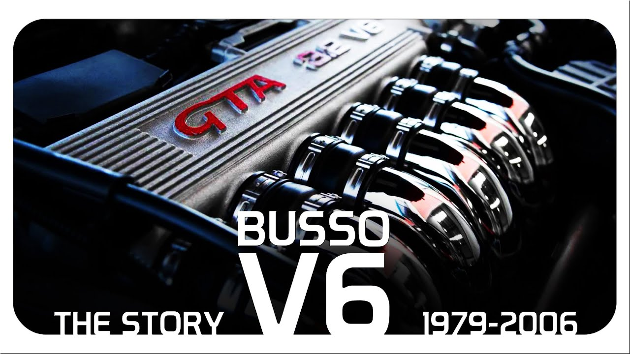 "The Story Of The ""Busso"" V6 Engine"