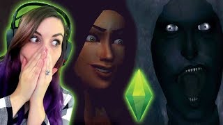 Reacting to MORE of the SCARIEST Sims Stories