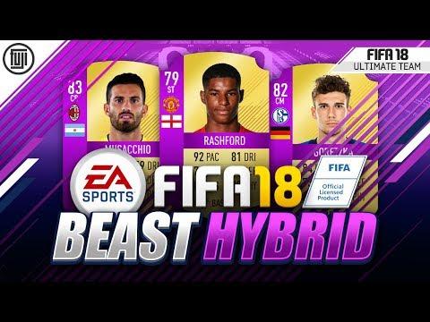 THE BEAST OVERPOWERED HYBRID!!! - FIFA 18 Ultimate Team
