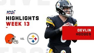 Duck Duck Hodges! | NFL 2019 Highlights