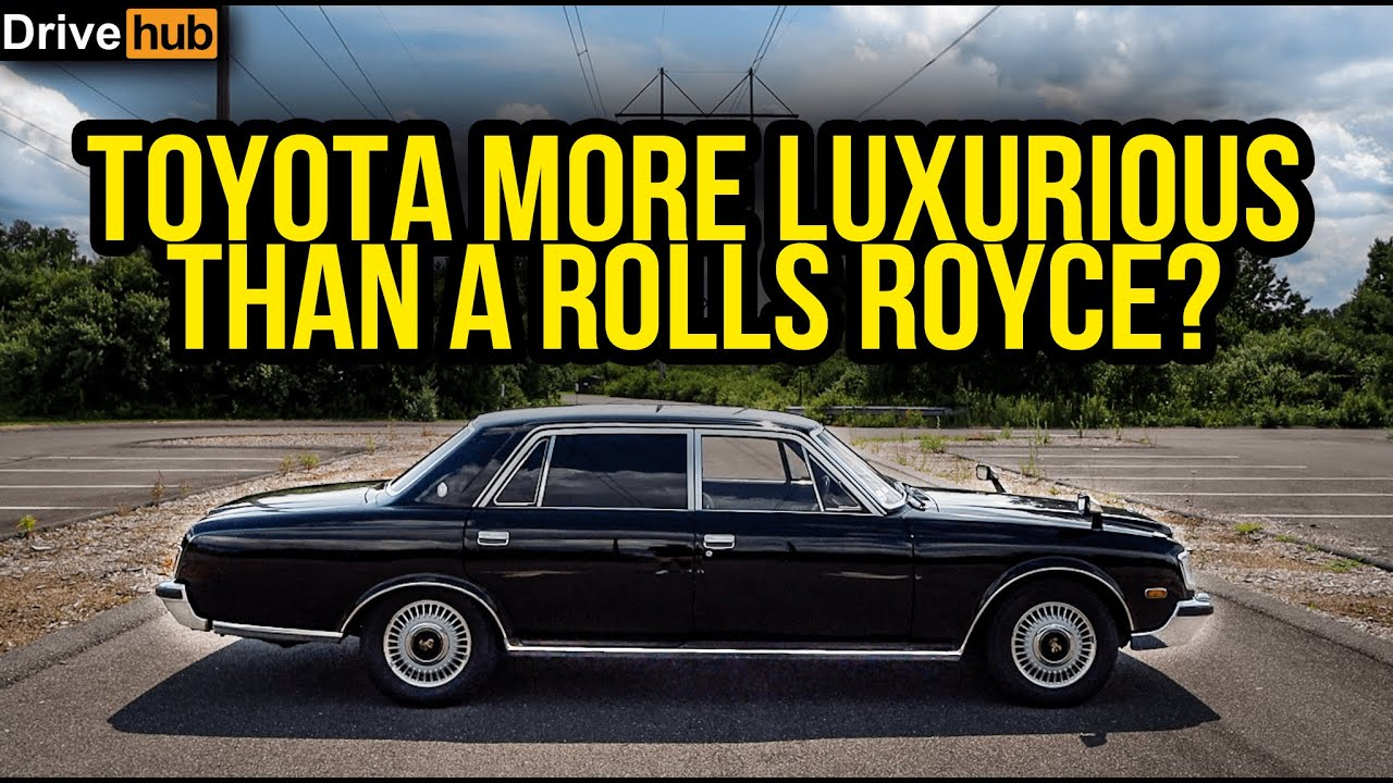 The 1995 Toyota Century Is a Japanese Rolls-Royce