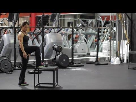 What Do Dumbbell Step-Ups Work? : Exercises Using Dumbbells