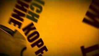 """Peter Fox - """"Kopf Verloren"""" Typography"""