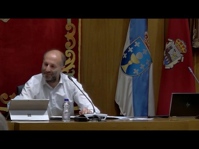 Pleno extraordinario del Concello de Ourense - 23/09/2020