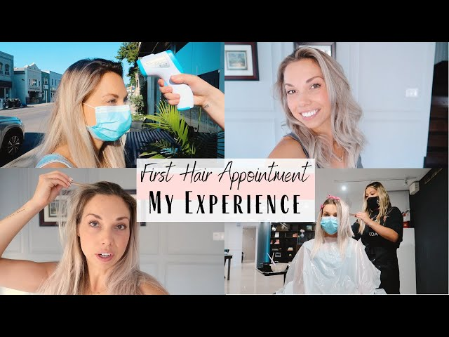 My Hair Salon Experience As The World Opens Up | Vlog